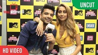 MTV Love School Season 3 | Exclusive Chat | Karan Kundra and Anusha Dandekar
