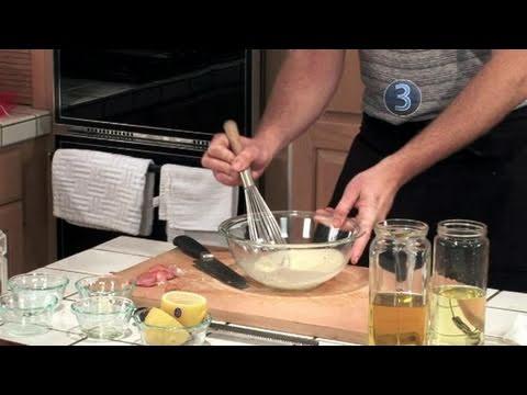 How To Prepare Lemon Vinaigrette Dressing