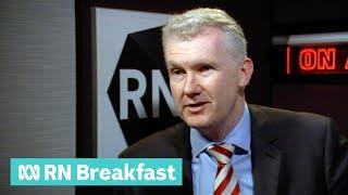 Tony Burke on encryption laws passing | RN Breakfast