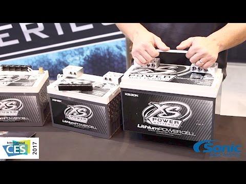 XS Power Lithium Power Cell Car Batteries   CES 2017