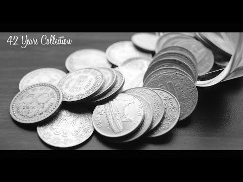 50 PAISE 42 Years MEGA coin collections in Series | INDIA