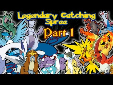 Pokémon HeartGold & SoulSilver -Bonus Episode #2: Catching all of the Legendaries! [Part 1]