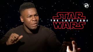 Star War The Last Jedi Interview: John Boyega