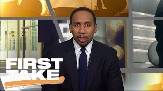Stephen A. Smith declares the Legion of Boom is