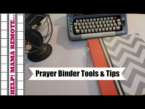 What's in my Prayer/War Binder & Tips to Strengthen Your Prayer Life (Complete Video)