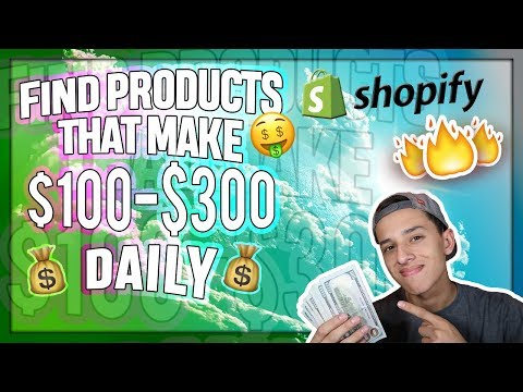 How To Find Products That Make $100-$200 DAILY (Dropshipping SECRET)
