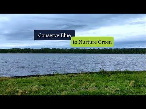 Conserve Blue to Nurture Green