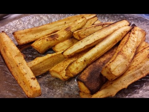 Roasted Parsnips Side Dish Recipe Demonstration