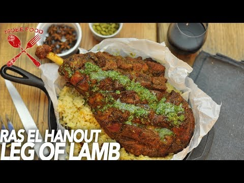 Ras el Hanout Leg of Lamb - Isobe Food