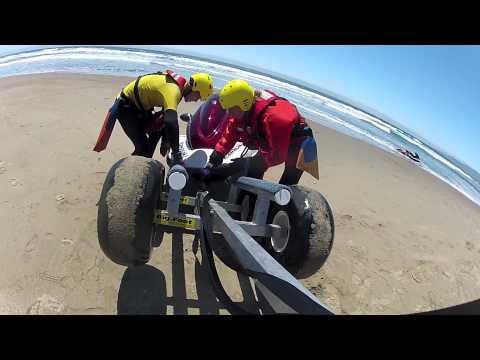 SBCWRT PWC Beach Wheel Loading