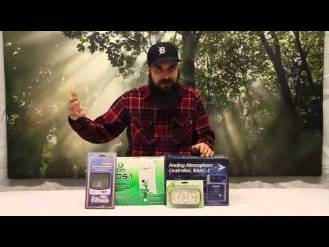 Humidity Monitors and Controllers for Indoor Gardens