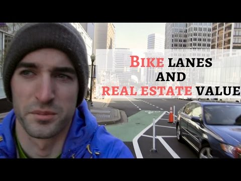 Bike Lanes and Property Values | Why You Should Purchase Real Estate Near Bike Lanes