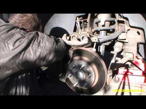 2009 GMC Sierra 4 Wheel Brake Job Part 2: Front Brakes