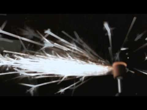 Axe Grinding in High Speed (Shower of Sparks)