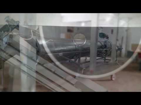 Cigarette Machine - Line for cutting tobacco