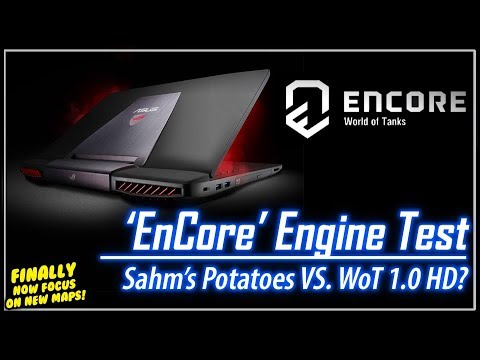 EnCore Engine Test - WoT 1.0 HD Systems || World of Tanks