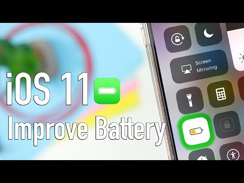 How to Improve iOS 11 Battery Life Tips & Tricks