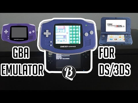 How to get a GBA Emulator on R4 DS/3DS