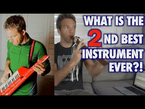 What is the 2nd Best Instrument Ever?