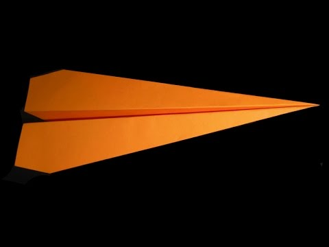 Origami |DIY | How to make an EASY and GOOD PAPER AIRPLANE