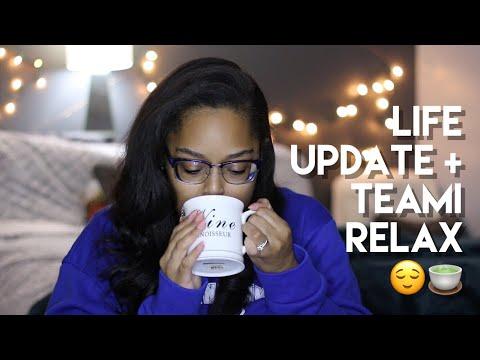 LIFE UPDATE + TEAMI RELAX TEA! | Danielle Renée