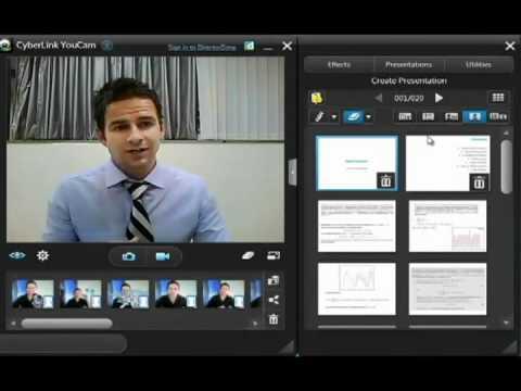 YouCam 5: Webcam PowerPoint Presentations