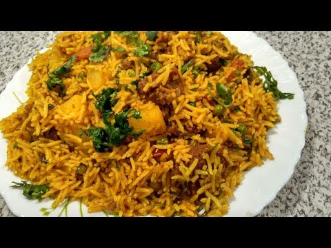 mutton tahri | Hyderabadi Mutton Pulao | Ghosh Ki Tahari | गोश्त की तहारी