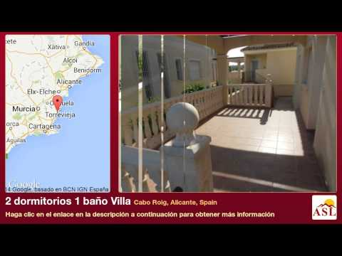 2 dormitorios 1 baño Villa se Vende en Cabo Roig, Alicante, Spain