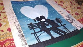 Download Kiss 😘 Day Special 😍 Couple Kissing - Art Guruji Video
