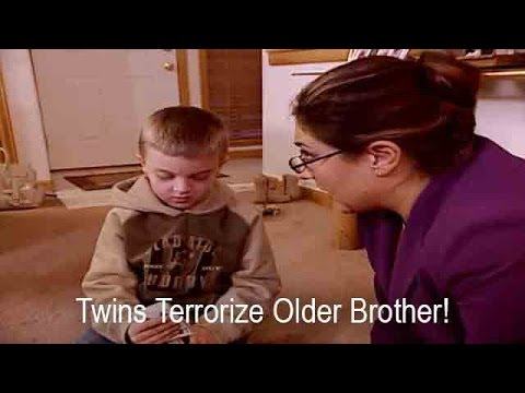 Twin Girls Terrorize Older Brother | Supernanny