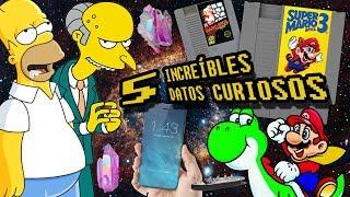 5 INCREÍBLES DATOS CURIOSOS A DETALLE #4