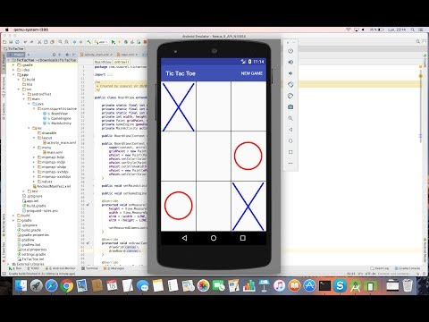 Learn to create a Tic-Tac-Toe Game with Android Studio