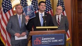 House Republicans refocus after healthcare bill failure