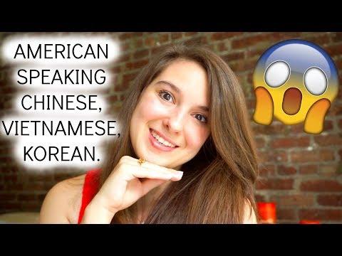 American Speaks Chinese, Vietnamese, Korean, French   Người Mỹ Nói Tiếng Việt, Tiếng Trung Quốc