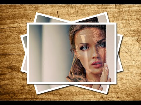 Retro Stacked Photo Effect - Photoshop Tutorial - Polaroid Effect