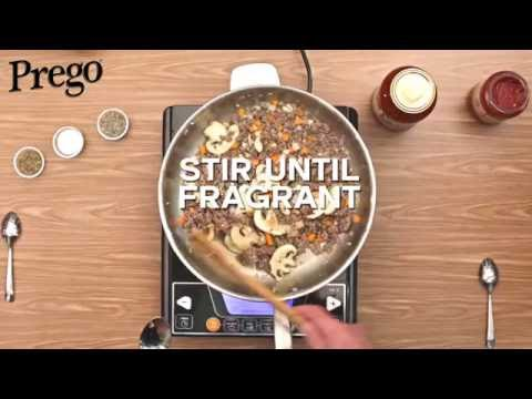 Prego Spaghetti Bolognese - 60secs Video Tutorial