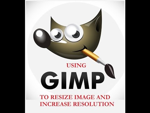 CreateSpace: Resize and increase resolution of image using GIMP