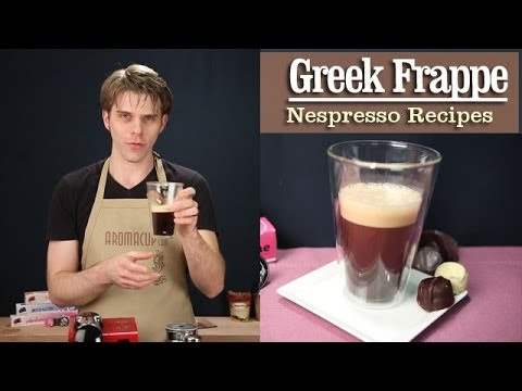 How to Make a perfect Greek Frappe with the Nespresso Machine