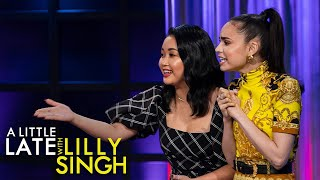 Dancing Clues With Lana Condor And Sofia Carson