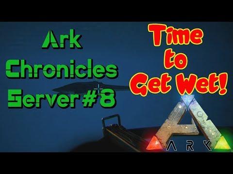 Ark Chronicles Server #8 - I Can't Swim!