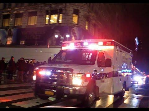 NYU Langone Medical Center EMS Responding in Manhattan NYC