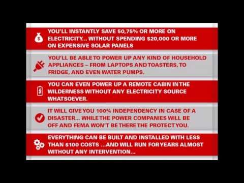 Attain complete energy independence with WISE Generator | WISE Generator Blueprint Download