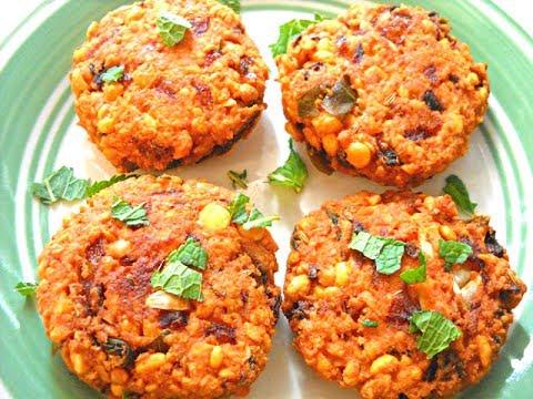 Andhra Masala Vada or Chanadal vada Recipe - మసాలా వడలు | just cooking