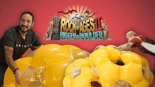 BOULDER CRASH COURSE  •  Rock Of Ages II Gameplay