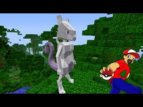 Minecraft: Pixelmon Episode 5: Hunting & Finding Mewtwo!