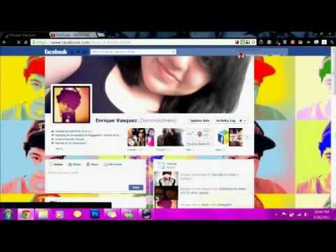How to get Background on Facebook.com Using Google Chrome!