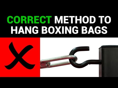 Hanging a Boxing bag instructions | Punch® Equipment