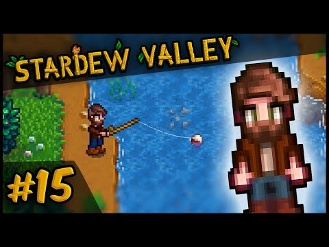 Catching the Chub | Let's Play Stardew Valley #15 | Stardew Valley Gameplay PC