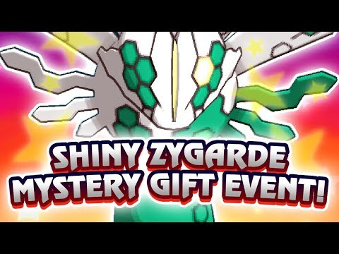 Shiny Zygarde event for everyone! How to get shiny Zygarde in Pokémon Ultra Sun and Ultra Moon!