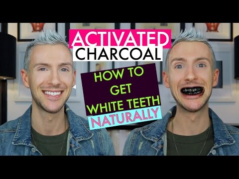 GET WHITE TEETH FAST - NATURAL TEETH WHITENING TIPS WITH ACTIVATED CHARCOAL